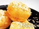 Рецепта Пържени изварени топчета
